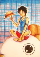Luffy by Grimmjou