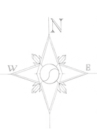 Compass Rose by Fiery-Mox