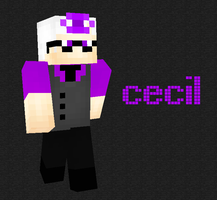 Cecil WTNV Minecraft Skin by Games4me