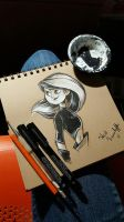 Inktober 4 - Kim Possible by HNAutumn