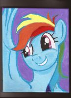 Rainbow Dash uses charm by Pwnyville