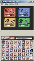 My Ideal Smash Bros. Roster by Phantosanucca