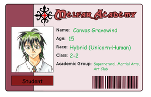 Melfar Academy ID Canvas by Sora9317