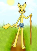 Dusty the Pikachu by Lig28