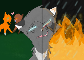 Ashfur's Pain by icestar22