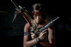 Tomb Raider Lara Croft: Survival Mode Engaged by JennCroft
