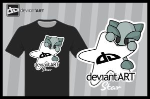 dA Star Shirt by JinxBunny