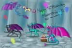 B day gift by floravola
