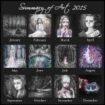 2015 Summary of Art by SandraHultsved