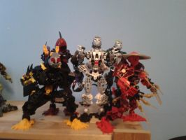 bionicle: the five kings of shadow by CASETHEFACE