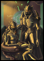 HALO:D.Dajamee_and_M.Danubee by Jadeitor
