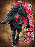 .:Demon Chibi:. by WhiteSpiritWolf