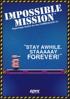 Impossible Mission poster by AbelMvada