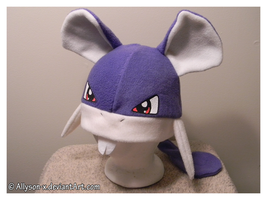 Rattata Hat by Allyson-x