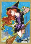 WITCHCRAFT SKETCHCARD by JASONS21
