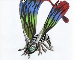 Mothra by ThrashMaster666