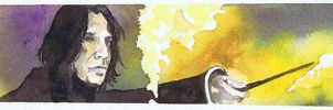Snape - Bookmark by DontSpeakSilent