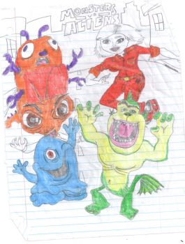 Monsters vs aliens favourites by Natashow on DeviantArt