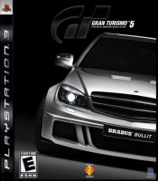 GranTurismo 5 - boxart quicky by suzq044-chopartist