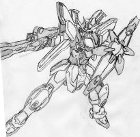 Request: Gundam X Divider by Linkinpark30101