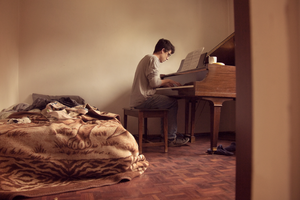 Piano with Bed by rmayani