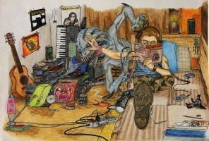 life with Jean-Jacques  by David-LaCroix