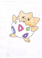 togepi by Darkfire-Blaze