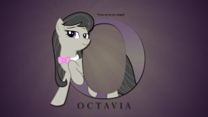 Wallpaper : Letters - Octavia by pims1978