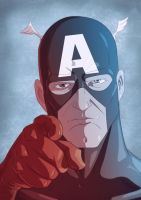 Captain America 2011 by Juggertha