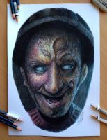 Pencil Drawing of Freddy Krueger by AtomiccircuS