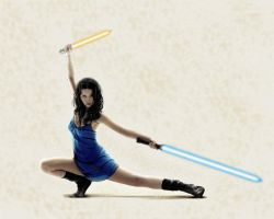 River Tam - Jedi Redux by forcesinmotion