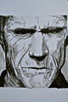 Clint Eastwood by Justaguyintheworld