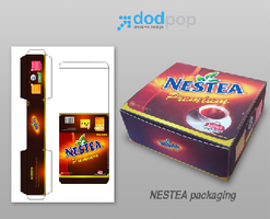 nestea packaging by dodpop