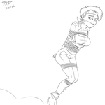Commission: Jumping Jade by TheBitterSweetPrince