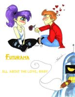 Futurama chibis. You heard me. by persephohi