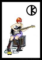 K Guitar by mattcantdraw