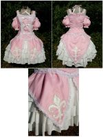 Fleur de Leis Princess Dress by sakurafairy
