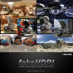 Fakehdri Packs #001-004 by fakehdri