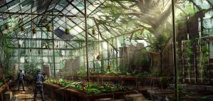 Greenhouse by JoakimOlofsson