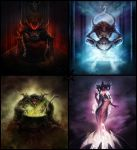 gods of Chaos by baklaher