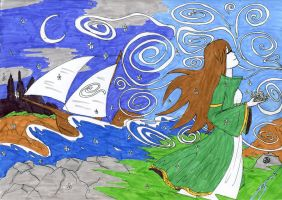 celtic dream by thelongblondhair