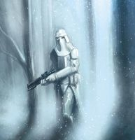 Snow Trooper by M-Atiyeh