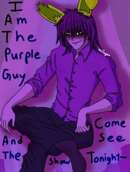 William Vincent Afton by WisperWillowdraws