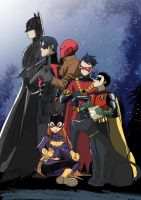 bat family by mulecans