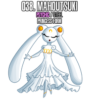 Fakemon: 38 - b by MTC-Studios