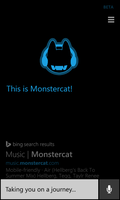 Cortana Monstercat Reference (Concept Art) by Dragoner7