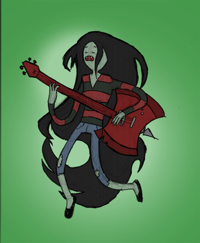 Marceline by Corpse-Pirate