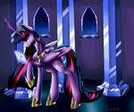 Twilight Sparkle. the death of friends by Vincher