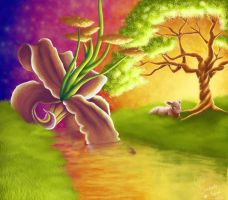 The Scenery of Me_ Digital Painting version by artfreaksue