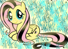 Fluttershy by PONITA-GOLD-EVIL